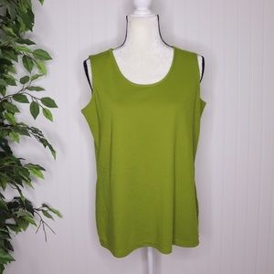 Susan Gravers Essentials Tank Top Size M